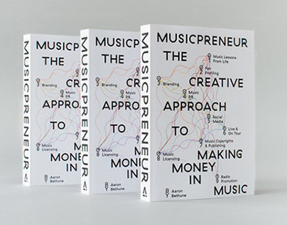 Musicpreneur Book Design