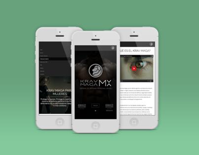Krav Maga MX Web Design