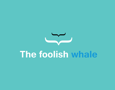 The foolish whale : Bookcover