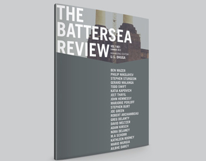 Battersea Review Cover & Masthead