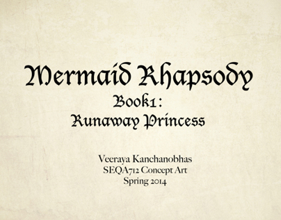Concept Art_Mermaid Rhapsody Book:1_Part1