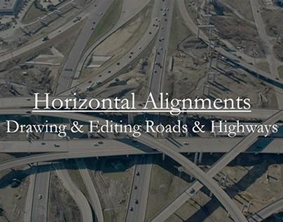 InfraWorks: Horizontal Alignments