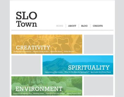 Slo Town Website