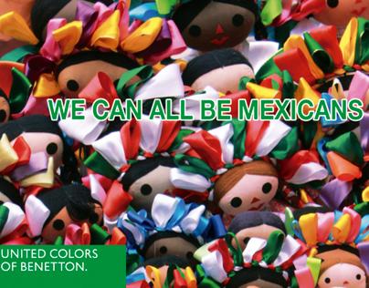 BENETTON. Todos podemos ser mexicanos.