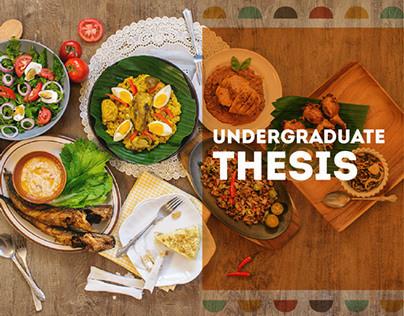 Mangan Tamu!: Undergraduate Thesis