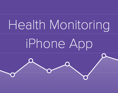Heath Monitoring app (iPhone)