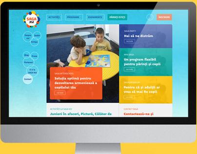 SAGA Kid - Website