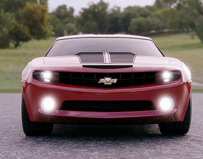 Chevy Camaro 3D car model