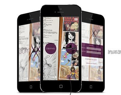 ComiXX - FMP app design