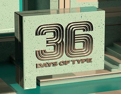 36 Days of Type // 2021