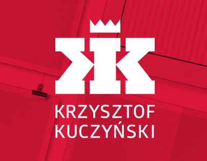Logo for Krzysztof Kuczyński - 3D and Motion Designer