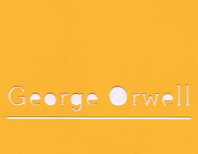 Book series // George Orwell