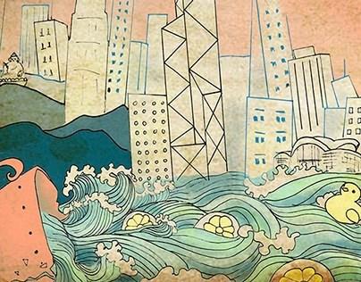 Hong Kong Post Cards