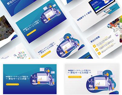 Marketing powerpoint Presentation design