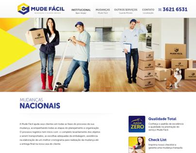 Mude Fácil - Website