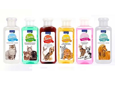 """shampoo label """"Priroda"""""""