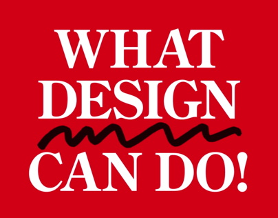 What Design Can Do! Filmfestival trailer