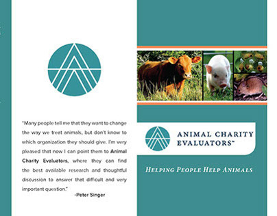 Trifold Brochure: Animal Charity Evaluators