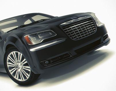 Chrysler 300 S, 3d model