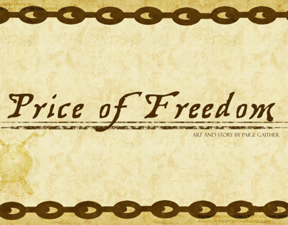 Price of Freedom - Concept Boards