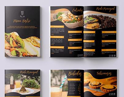 Menu Restaurante | Design gráfico e diagramação