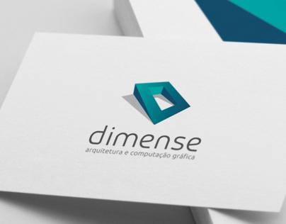 Dimense翻译的logo设计