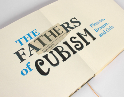 Early Cubism Chap Book
