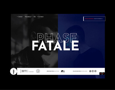 Phase Fatale - Website