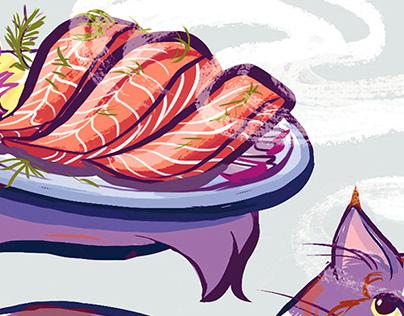 Editorialand Food Illustration