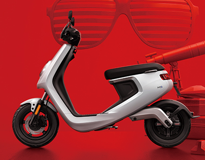 M1 E-Scooter Designed Beijing Niu Technology Co.,Ltd