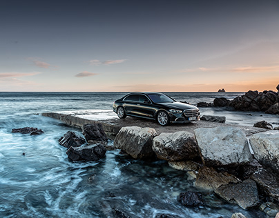 Mercedes-Benz S-Class on the french riviera.
