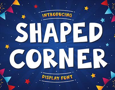 (FREE DOWNLOAD) Shaped Corner | Font