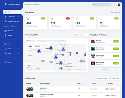 Emfluencer Admin Portal