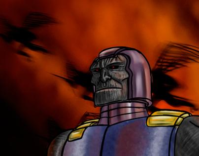 """Darkseid"" by Liger"