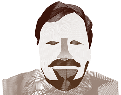 Thomas Benner Adobe Illustrator Blend Tool My Portrait