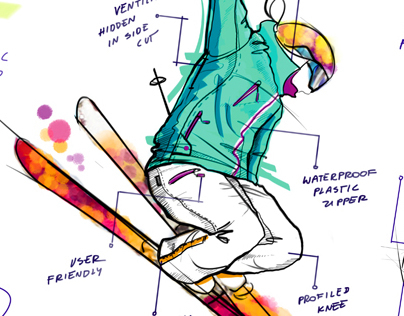 4F - Sport fashion - sketches