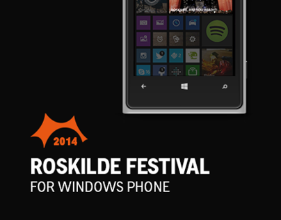 Roskilde festival 2014 for Windows Phone