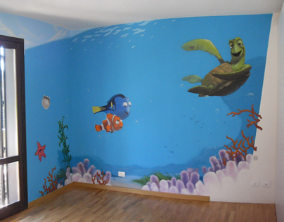 Private Baby Room // Nemo e co. + Ice Age + Madagascar