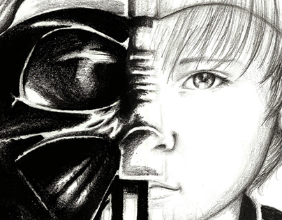 Old Drawings / Darth Vader / Helsing / Dragons
