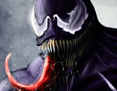 Digital Paintings / Dragon / Venom / Old Man / Dwarf