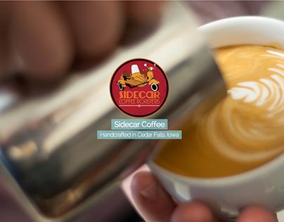 Website Design & Development   Sidecar Coffee Shop