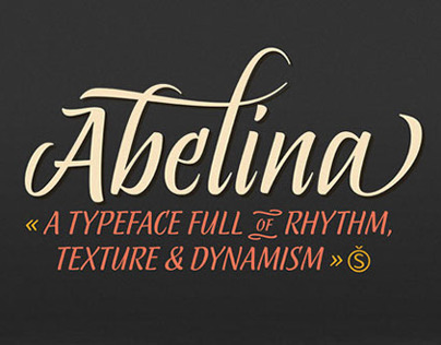 «Abelina Pro» Typeface / Sudtipos New Release!
