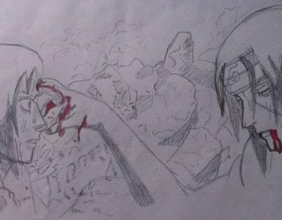 Itachi Vs Sasuke Uchiha