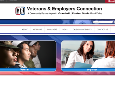 Veterans & Employers Connection website