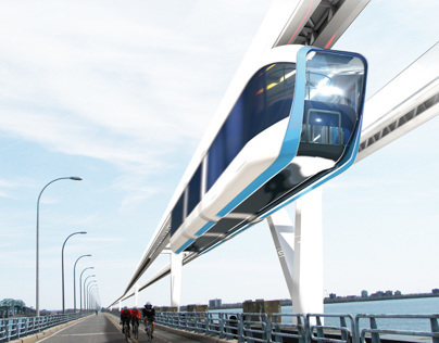 MGV Quebec, the High-Speed Monorail