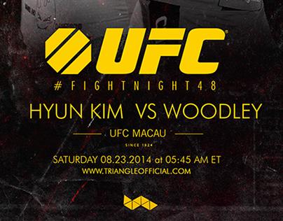 UFC MACAO / KIM VS WOODLEY