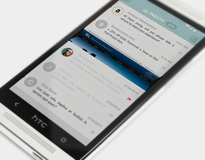 Android E mail client design