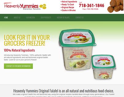 Heavenly Yummies Website