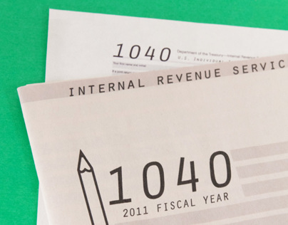 1040 Tax Booklet Re-Design
