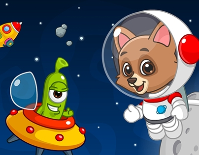 Space Adventures - Game for kids